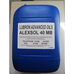Alexsol 40MB Soluble Oil 20L