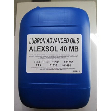 Alexsol 40MB Soluble Oil 20L