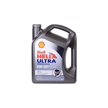 SHELL HELIX ULTRA AV-L 0W-30 5L