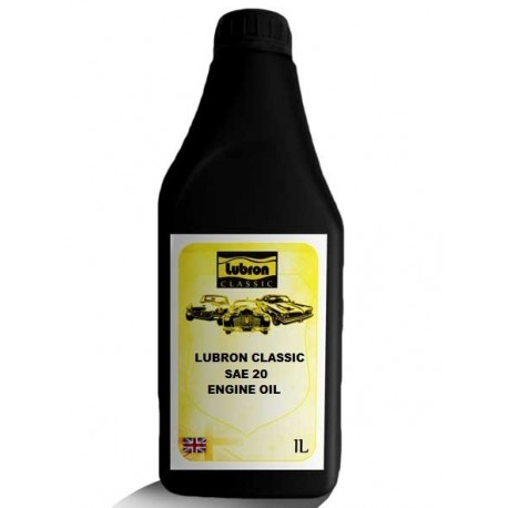 LUBRON CLASSIC ENGINE OIL SAE 20 1L