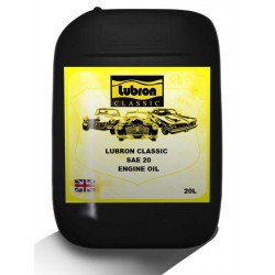 LUBRON CLASSIC ENGINE OIL SAE 20 20L