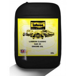 LUBRON CLASSIC ENGINE OIL SAE 40 20L