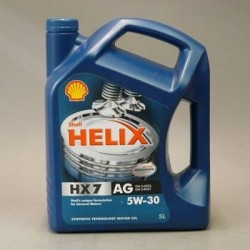 SHELL HELIX HX7 AG 5W-30 5L