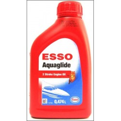 ESSO AQUAGLIDE 2T ENGINE OIL